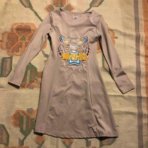 Kenzo Dresses - Kenzo Designer dress with tiger